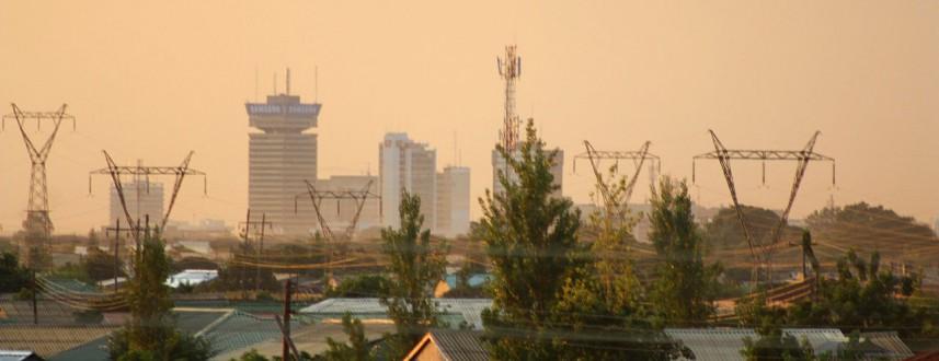 Lusaka_(Zambia)_at_dusk.